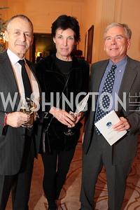 Photo by Alfredo Flores. Ken Miller Lybess Sweezy Rob McGarrah. An International Evening of Excellence In Honor of Global Kids in D.C. at the Residence of the French Ambassador. December 12, 2010