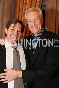 Photo by Alfredo Flores. Chipp Sundground, Rick Rickerstein . An International Evening of Excellence In Honor of Global Kids in D.C. at the Residence of the French Ambassador. December 12, 2010
