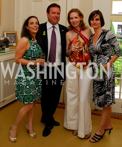 Kyle Samperton,May 27,2010,  Amy Kauffnman,Chris ThompsonJuleanna Glover.Marie Elena Amatangelo, Glover Book Party