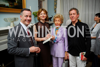 Kyle Samperton,May 27,2010,  Andrew Florance,Frances Osborne,Ina Ginsburg,MarcGinsburg, Glover Book Party