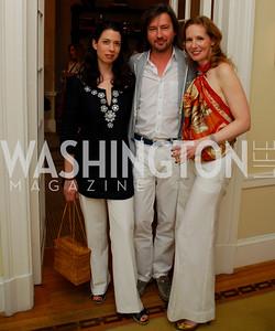 Kyle Samperton,May 27,2010, Margaux Bergen,Christopher Reiter,Juleanna Glover, Glover Book Party