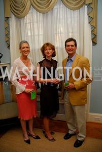 Kyle Samperton,May 27,2010, Jennifer Griffin,Frances Osborne,Greg Myre, Glover Book Party