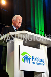 Photo by Tony Powell. President Jimmy Carter. Thanks A Million Gala. Mellon Auditorium. October 4, 2010