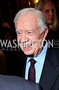 Photo by Tony Powell. President Jimmy Carter. Thanks A Million Gala. Mellon Auditorium. October 4, 2010