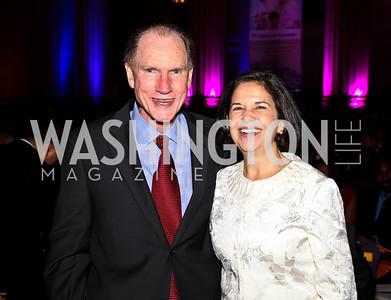 Photo by Tony Powell. Joe Eldridge, Maria Otero. Thanks A Million Gala. Mellon Auditorium. October 4, 2010
