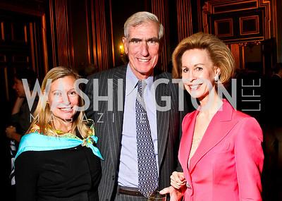 Photo by Tony Powell. Cynthia Hostetler, Clayland Boyden Gray, Bonnie McElveen-Hunter. Thanks A Million Gala. Mellon Auditorium. October 4, 2010