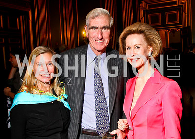 Photo by Tony Powell. Cynthia Hostetler, Clayland Boyden Gray, Bonnie McElveen-Hunter. Thanks A Million Gala. Mellon Auditorium. October 4, 2010