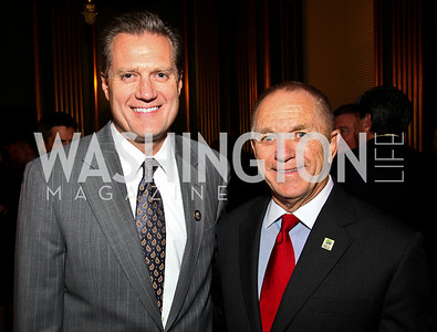 Photo by Tony Powell. Congressman Mike Turner, Ken Klein. Thanks A Million Gala. Mellon Auditorium. October 4, 2010