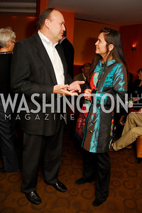 Max Woodward, Diane Paulus, Hair Cast Party, October 28, 2010, Kyle Samperton