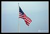 American Flag at Hampton Beach