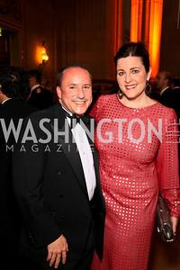 Daren Thomas, Rachel Pearson. Photo by Tony Powell. Heart's Delight Vintners Dinner. Mellon Auditorium. May 7, 2010