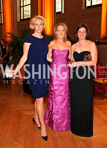 Holly Page, Sloane Hurst, Aimee Picard. Photo by Tony Powell. Heart's Delight Vintners Dinner. Mellon Auditorium. May 7, 2010