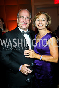 "Mark and Linda Powell. Photo by Tony Powell. Hisaoka ""Make a Difference"" Gala. Mandarin Oriental. September 24, 2010"