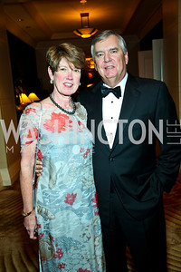 "Rosemary and Mike Laphen. Photo by Tony Powell. Hisaoka ""Make a Difference"" Gala. Mandarin Oriental. September 24, 2010"