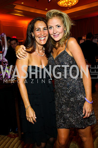 "Holly Karp, Erika Byrd. Photo by Tony Powell. Hisaoka ""Make a Difference"" Gala. Mandarin Oriental. September 24, 2010"