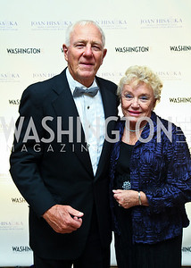 "Milt and Carolyn Peterson. Photo by Tony Powell. Hisaoka ""Make a Difference"" Gala. Mandarin Oriental. September 24, 2010"