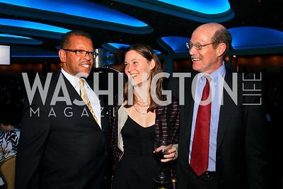 Keith Corbett, Zoe Hudson, Mike Calhoun. Photo by Tony Powell. The Hubert H. Humphrey Civil and Human Rights Award Dinner. Washington Hilton. May 12, 2010