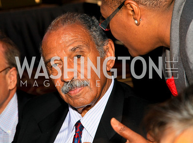 Michigan Congressman John Conyers. Photo by Tony Powell. The Hubert H. Humphrey Civil and Human Rights Award Dinner. Washington Hilton. May 12, 2010