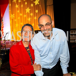 Helen Gonzalez, Robert Raben. Photo by Tony Powell. The Hubert H. Humphrey Civil and Human Rights Award Dinner. Washington Hilton. May 12, 2010