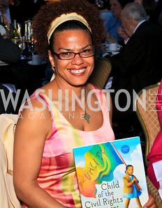 Author Paula Young Shelton. Photo by Tony Powell. The Hubert H. Humphrey Civil and Human Rights Award Dinner. Washington Hilton. May 12, 2010