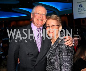 Harold and Nancy Zirkin. Photo by Tony Powell. The Hubert H. Humphrey Civil and Human Rights Award Dinner. Washington Hilton. May 12, 2010