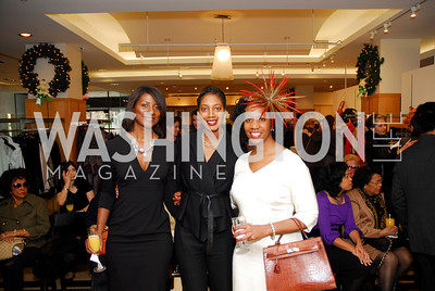 Alfreda Ward,Jennifer Streaks,Jennifer Long,December 5,2010,Isaac Mizrahi at Saks Jandel,Kyle Samperton