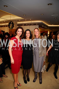 Shelly Gallo,Rebecca Fishman,Debbie Dockser,December 5,2010,Issac Mizrahi at Saks Jandel,Kyle Samperton