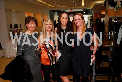 Beth Kohlhoss,Maureen Curley,Meredith Cymerman,Jamie Schwartzberg,Decenber 5,2010,Isaac Mizrahi at Saks Jandel