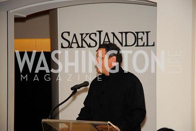 Isaac Mizrahi,December 5,2010,Isaac Mizrahi at Saks Jandel,Kyle Samperton