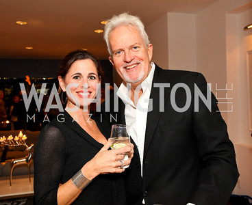 Michelle Freeman and Jack Davies. Cocktail Reception at the home of Jack Davies to celebrate THEARC. December 1, 2009. photos by Tony Powell