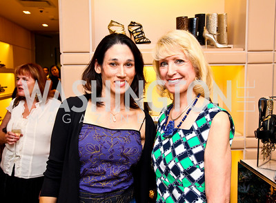 Dr. Suzanne Doud-Galli, Dr. Joyce Hagel-Silverman. Photo by Tony Powell. Jimmy Choo/Suited for Change Shopping Event. September 23, 2010