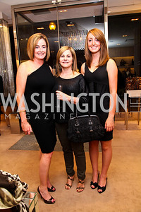 Alison Stansbury, Sue Cushing, Skye Stansbury. Photo by Tony Powell. Jimmy Choo/Suited for Change Shopping Event. September 23, 2010