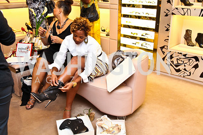 Patrice Webb. Photo by Tony Powell. Jimmy Choo/Suited for Change Shopping Event. September 23, 2010