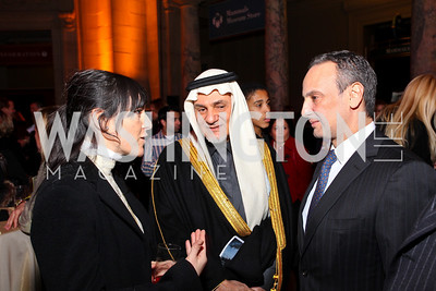 Nora Maccoby, Prince Turki al-Faisal, Kuwait Amb. Salem Al-Sabah. Journey to Mecca IMAX Gala Screening. Museum of Natural History. January 13, 2010. photos by Tony Powell