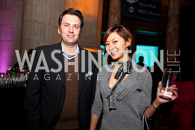 Michael Clements and Anchyi Wei. Journey to Mecca IMAX Gala Screening. Museum of Natural History. January 13, 2010. photos by Tony Powell