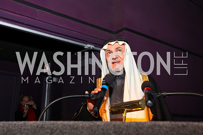 Prince Turki al-Faisal. Journey to Mecca IMAX Gala Screening. Museum of Natural History. January 13, 2010. photos by Tony Powell