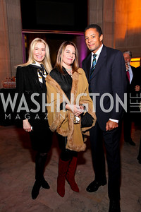 Pia-Maria Norris, Sandra Gonzalez, Tony Brown. Journey to Mecca IMAX Gala Screening. Museum of Natural History. January 13, 2010. photos by Tony Powell