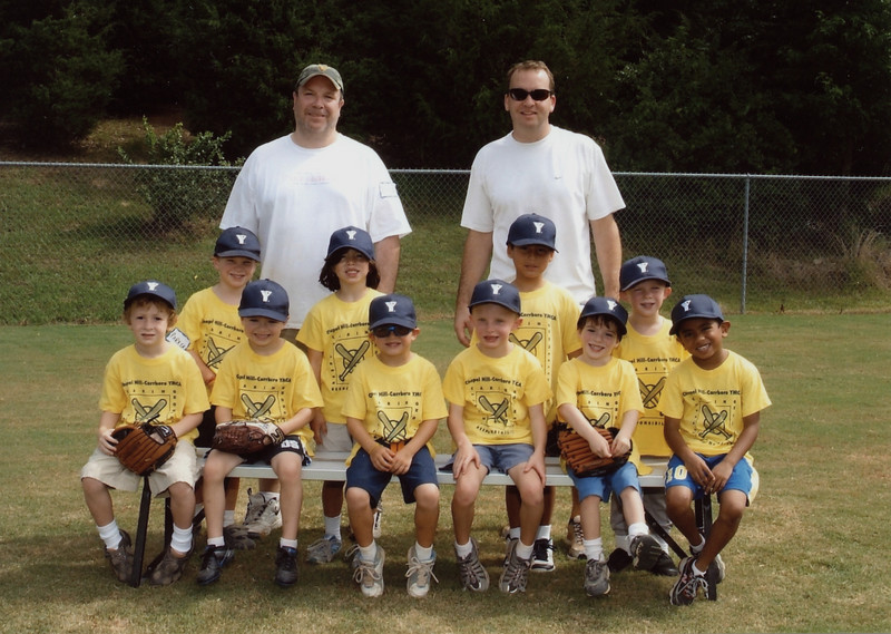 Parker and Tace's T-ball team - summer of 2010. Shawn was one of the coaches.