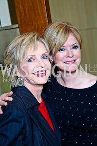 Photo by Tony Powell. Florence Henderson and daughter Barbara Chase. George Stevens Brunch. Mandarin Oriental. December 5, 2010
