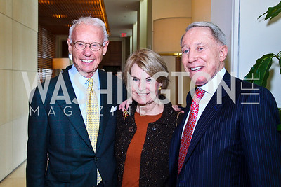 Photo by Tony Powell. Roger and Vicki Sant, Jim Kimsey. George Stevens Brunch. Mandarin Oriental. December 5, 2010