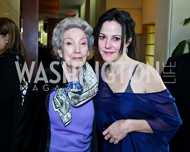 Photo by Tony Powell. Caroline-Louise Parker and Actress Mary-Louise Parker. George Stevens Brunch. Mandarin Oriental. December 5, 2010