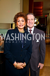 Photo by Tony Powell. Janet Langhart Cohen and William Cohen. George Stevens Brunch. Mandarin Oriental. December 5, 2010