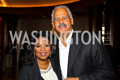 Photo by Tony Powell. Oprah Winfrey, Stedman Graham. George Stevens Brunch. Mandarin Oriental. December 5, 2010