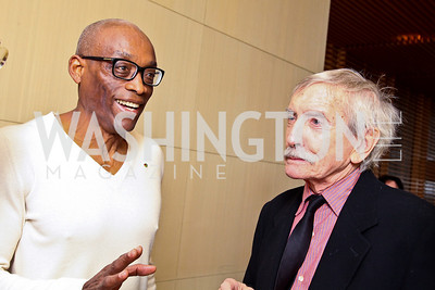Photo by Tony Powell. Bill T. Jones, Edward Albee. George Stevens Brunch. Mandarin Oriental. December 5, 2010