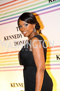 Photo by Tony Powell. Jennifer Hudson. Kennedy Center Honors Red Carpet. December 5, 2010