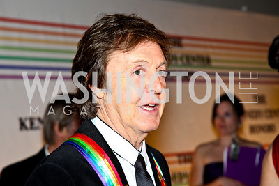 Photo by Tony Powell. Sir Paul McCartney. Kennedy Center Honors Red Carpet. December 5, 2010