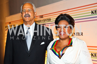 Photo by Tony Powell. Stedman Graham, Honoree Oprah Winfrey. Kennedy Center Honors Red Carpet. December 5, 2010
