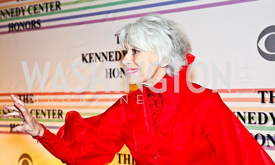 Photo by Tony Powell. Carol Channing. Kennedy Center Honors Red Carpet. December 5, 2010