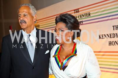 Photo by Tony Powell. Stedman Graham, Oprah Winfrey. Kennedy Center Honors Red Carpet. December 5, 2010