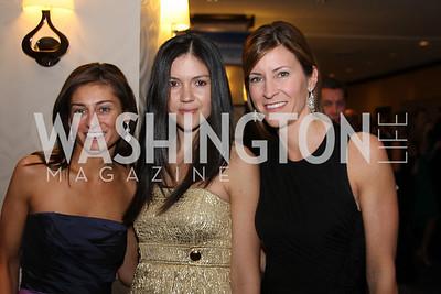 Ann Kane, Carolina Desouza, Karen Donatelli 29th Annual Kidney Ball. November 21, 2009. Photo's by Michael Domingo